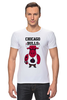 "Футболка Стрэйч (Мужская) ""Chicago Bulls"" - баскетбол, bulls, chicago bulls, чикаго буллз, быки"