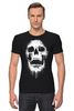 "Футболка Стрэйч ""Череп"" - skull, череп, кости"
