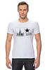 """Футболка Стрэйч """"Москва. Стиль-код."""" - арт, жизнь, позитив, звезда, рок, стиль, москва, дизайн, россия, университет"""