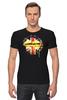 "Футболка Стрэйч ""Шерлок"" - bbc, флаг, sherlock, шерлок, uk"