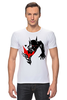 """Футболка Стрэйч """"Bad Batman (Плохой Бэтман)"""" - batman, бэтмен"""