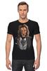 "Футболка Стрэйч ""Мистер Лев"" - king, хищник, лев, lion, animal, царь зверей"