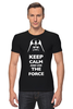 "Футболка Стрэйч (Мужская) ""Keep Calm and use the Force (Star Wars)"" - star wars, darth vader, keep calm, дарт вейдер, звёздные войны"