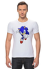 "Футболка Стрэйч ""Sonic"" - соник, sonic, sega"