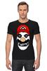 "Футболка Стрэйч (Мужская) ""Mario x Misfits"" - misfits, mario, марио"