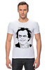 "Футболка Стрэйч (Мужская) ""Jack Nicholson"" - актер, джек николсон, jack nicholson"