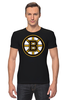 "Футболка Стрэйч ""Boston Bruins"" - хоккей, nhl, нхл, boston bruins, бостон брюинз"