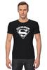"""Футболка Стрэйч (Мужская) """"Супермама (Supermom)"""" - супер, super, мама, mom, supermom"""