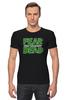 """Футболка Стрэйч (Мужская) """"Ходячие Мертвецы (The Walking Dead)"""" - fear, ходячие мертвецы, walking dead"""