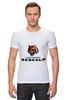 "Футболка Стрэйч ""Cincinnati Bengals"" - тигр, nfl, американский футбол, cincinnati, цинциннати бенгалс"