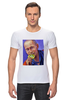 """Футболка Стрэйч (Мужская) """"Путин"""" - москва, россия, сочи, путин, кремль"""