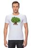"Футболка Стрэйч (Мужская) ""iCalistini The Love Tree Дерево Любви"" - счастье, дерево счастья, дерево любви"