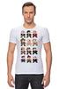 """Футболка Стрэйч (Мужская) """"Доктор Кто (8-bit)"""" - doctor who, доктор кто, pixel art, 8-bit, пиксельная графика"""