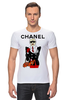 """Футболка Стрэйч """"Chanel"""" - прикол, юмор, духи, бренд, fashion, коко шанель, brand, coco chanel, perfume, karl lagerfeld"""