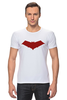 """Футболка Стрэйч (Мужская) """"Красный колпак (Red Hood)"""" - batman, бэтмен, красный колпак, red hood"""