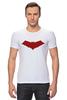 "Футболка Стрэйч ""Красный колпак (Red Hood)"" - красный колпак, red hood, batman, бэтмен"