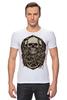 "Футболка Стрэйч ""skulls"" - skull, череп, черепа"