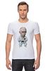 "Футболка Стрэйч ""Путин"" - москва, россия, путин, putin, кремль"