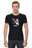 """Футболка Стрэйч (Мужская) """"Сердитый котик / Grumpy Cat (No.)"""" - кот, котэ, grumpy, grumpy cat, сердитый кот, унылый кот, грампи, грумпи"""