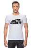 """Футболка Стрэйч (Мужская) """"Arctic Monkeys"""" - uk, arctic monkeys, indie rock, инди-рок, арктические мартышки"""