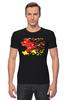 """Футболка Стрэйч """"Flash (8 Bit)"""" - flash, pixel art, пиксельная графика, флэш"""