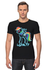 "Футболка Стрэйч ""MLP Neon Rainbow Dash"" - pony, mlp, magic, loyalty, friendship"