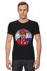 "Футболка Стрэйч ""Vladimir Putin "" - спорт, владимир, россия, 2014, путин, хоккей, putin, vladimir, pootin"