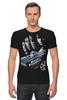 "Футболка Стрэйч ""Fast & Furious"" - авто, кино, форсаж, kinoart, fast & furious"