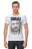 "Футболка Стрэйч ""Nirvana"" - гранж, nirvana, kurt cobain, курт кобейн, нирвана"