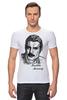 "Футболка Стрэйч (Мужская) ""Freddie Mercury - Queen"" - queen, фредди меркьюри, freddie mercury, куин, rock music"