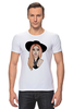 "Футболка Стрэйч (Мужская) ""Lady Gaga                    "" - музыка, арт, авторские майки, style, стиль, рисунок, поп, swag, lady gaga, леди гага"