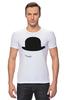 """Футболка Стрэйч """"Заводной апельсин (A Clockwork Orange)"""" - заводной апельсин, hat, шляпа, стэнли кубрик"""