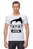 """Футболка Стрэйч (Мужская) """"Geek (Гик)"""" - geek, гик"""