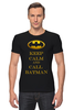 "Футболка Стрэйч (Мужская) ""Бэтмен"" - комиксы, batman, keep calm, бетмен"