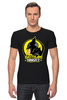 "Футболка Стрэйч (Мужская) ""Gotham Knight"" - комиксы, batman, кино, бэтмен, готэм"
