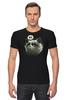 """Футболка Стрэйч """"Угрюмый Кот"""" - коты, grumpy cat, угрюмый кот, интернет мемы"""