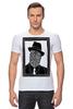 "Футболка Стрэйч (Мужская) ""DeadBroke"" - арт, man, стиль, рисунок, hat, tie, алина макарова"