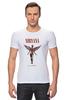 "Футболка Стрэйч (Мужская) ""Nirvana In Utero t-shirt"" - grunge, nirvana, kurt cobain, курт кобейн, in utero"