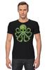 """Футболка Стрэйч """"Ктулху"""" - ктулху, octopus, осьминог"""