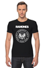 """Футболка Стрэйч """"Ramones"""" - punk, панк, ramones, рамонес, joey ramone"""