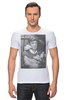 "Футболка Стрэйч ""Jean Paul Belmondo"" - кино, актер, kinoart, belmondo, бельмондо"