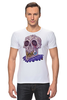 "Футболка Стрэйч (Мужская) ""Zombie art"" - skull, череп, zombie, зомби, арт дизайн"