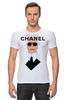 """Футболка Стрэйч """"Chanel"""" - fashion, шанель, karl lagerfeld, карл лагерфельд"""