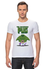 """Футболка Стрэйч (Мужская) """"Невероятный Мопс"""" - pug, hulk, мопс, халк, невероятный мопс"""