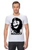 """Футболка Стрэйч """"Mario x Che """" - че гевара, mario, марио, che guevara"""