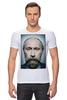 "Футболка Стрэйч (Мужская) ""Путинизм"" - царь, king, путин, борода, putin, beard, путинизм"