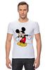 "Футболка Стрэйч ""Микки Маус"" - арт, mickey mouse"