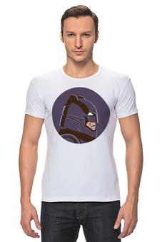 """Футболка Стрэйч """"Бэтмен против Супермена"""" - superman, бэтмен, супермен, batman"""