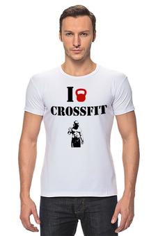 "Футболка Стрэйч ""стрейч лукас паркер"" - crossfit, кроссфит"