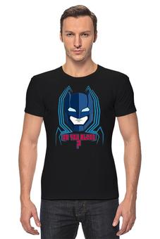 "Футболка Стрэйч ""Бэтмен против Супермена"" - супермен, batman, superman, бэтмен, dc comics"